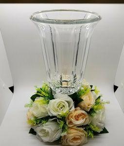 "12"" Tall Versatile Candle Holder Stand Floral Vase"